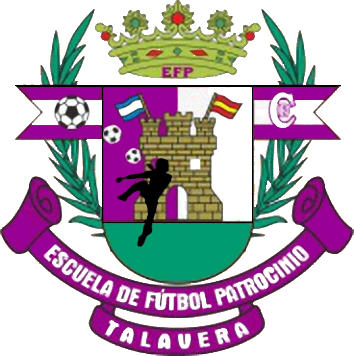 Escudo de C.D.E. E.F. PATROCINIO (CASTILLA LA MANCHA)