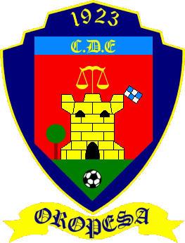 Escudo de C.D.E. OROPESA (CASTILLA LA MANCHA)