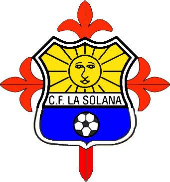 Escudo de C.F. LA SOLANA (CASTILLA LA MANCHA)