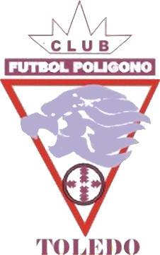 Escudo de C.F. POLÍGONO TOLEDO (CASTILLA-LA MANCHA)