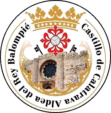 Escudo de CASTILLO DE CVA. ALDEA DEL REY B. (CASTILLA-LA MANCHA)