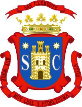 Escudo de E.M.F. A.D. SAN CLEMENTE (CASTILLA LA MANCHA)