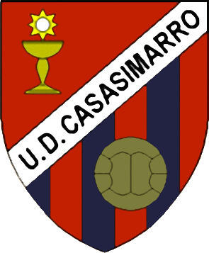 Escudo de U.D. CASASIMARRO (CASTILLA LA MANCHA)