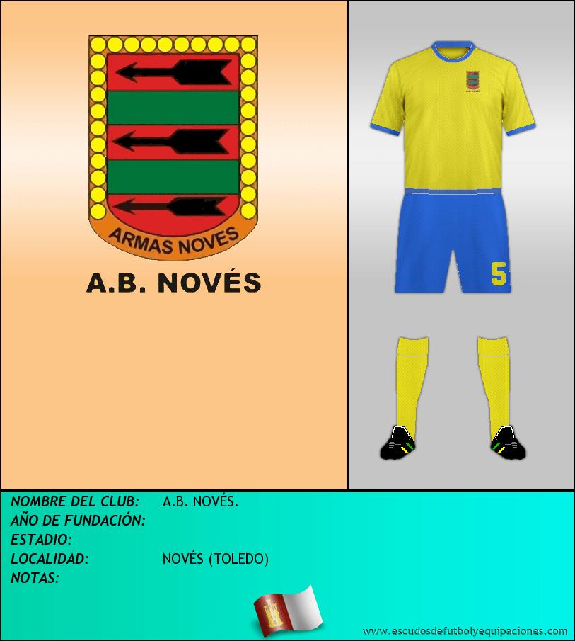 Escudo de A.B. NOVÉS.
