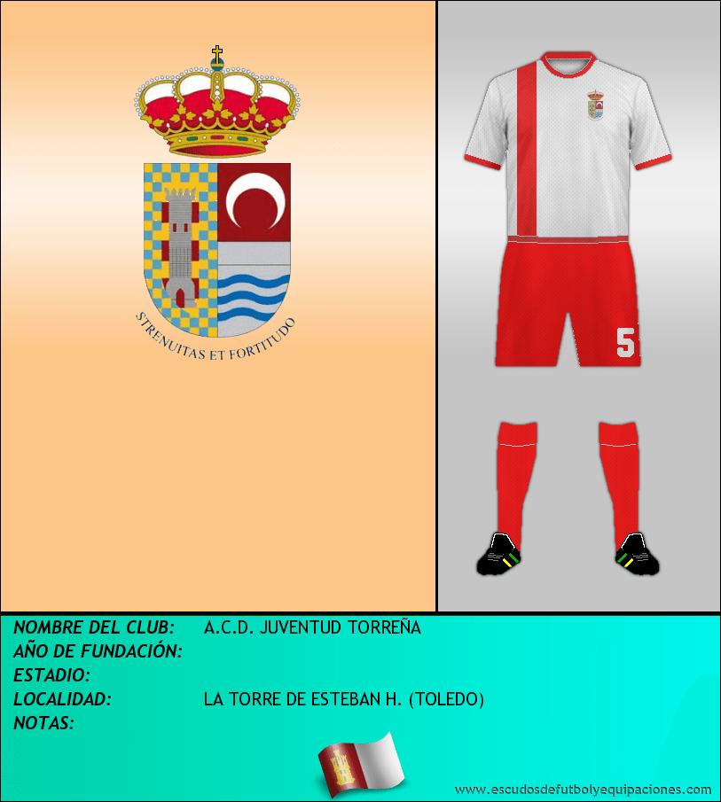 Escudo de A.C.D. JUVENTUD TORREÑA
