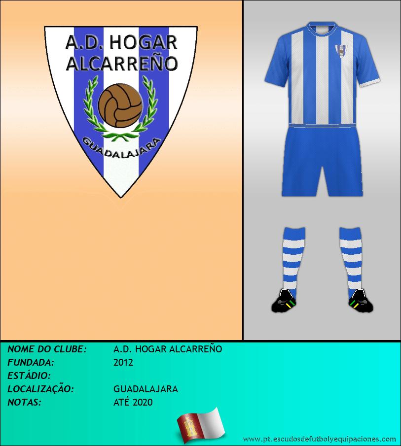 Escudo de A.D. HOGAR ALCARREÑO