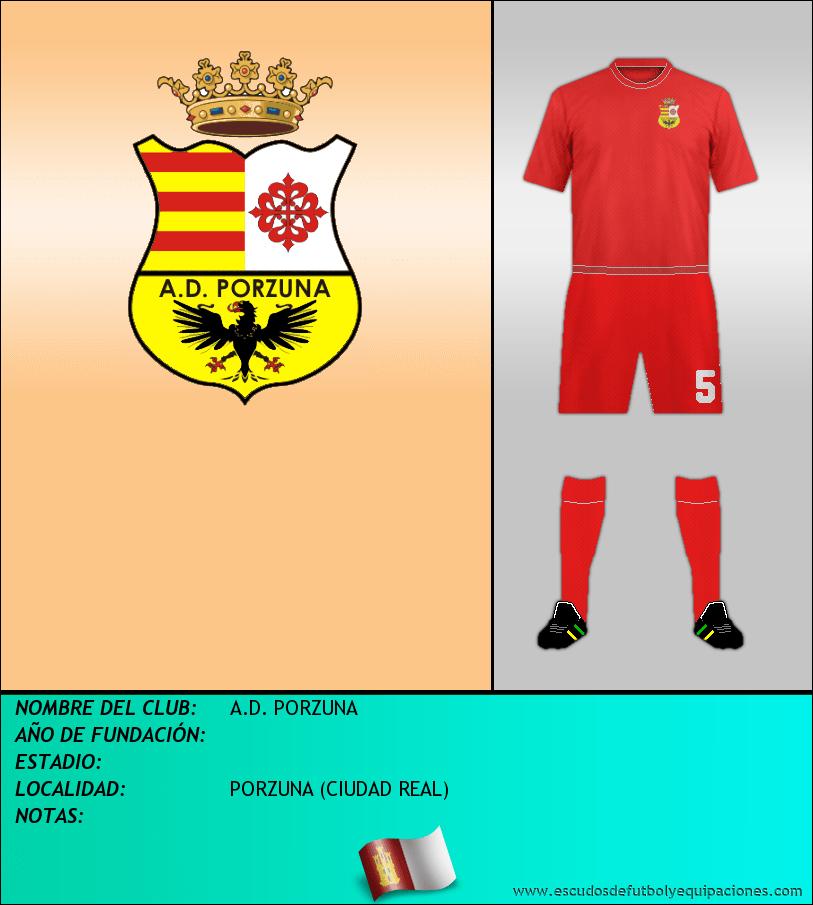 Escudo de A.D. PORZUNA