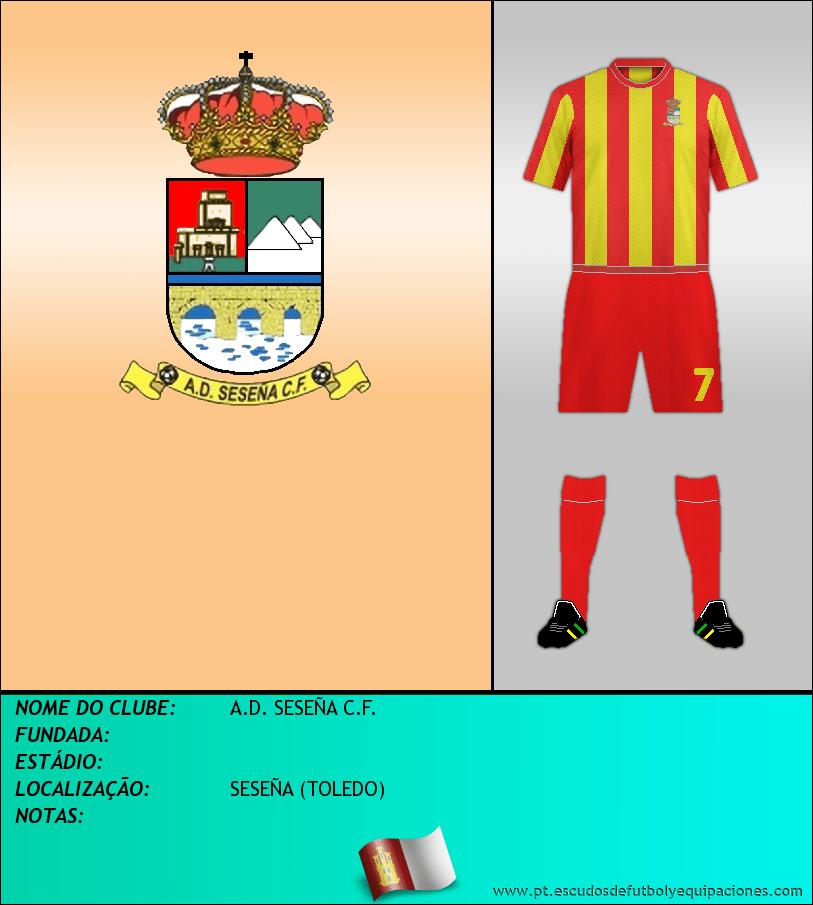Escudo de A.D. SESEÑA C.F.