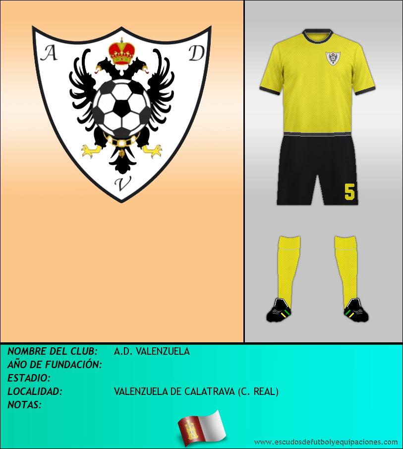 Escudo de A.D. VALENZUELA