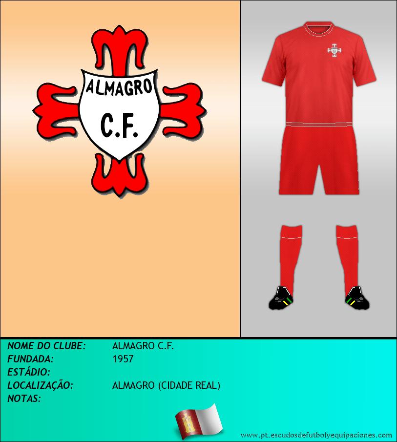 Escudo de ALMAGRO C.F.