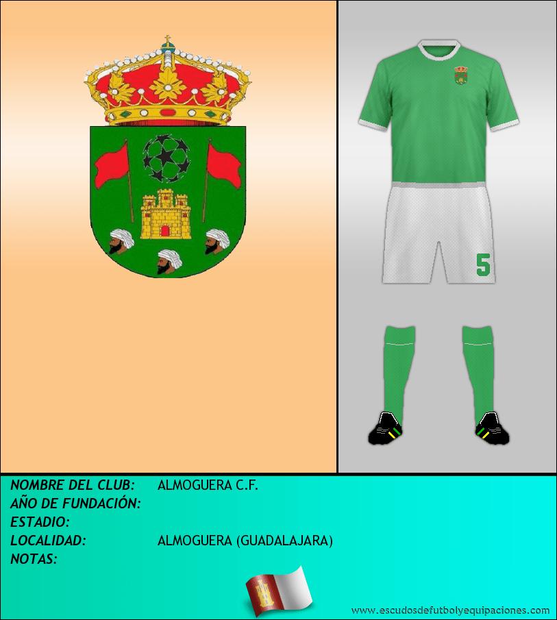 Escudo de ALMOGUERA C.F.