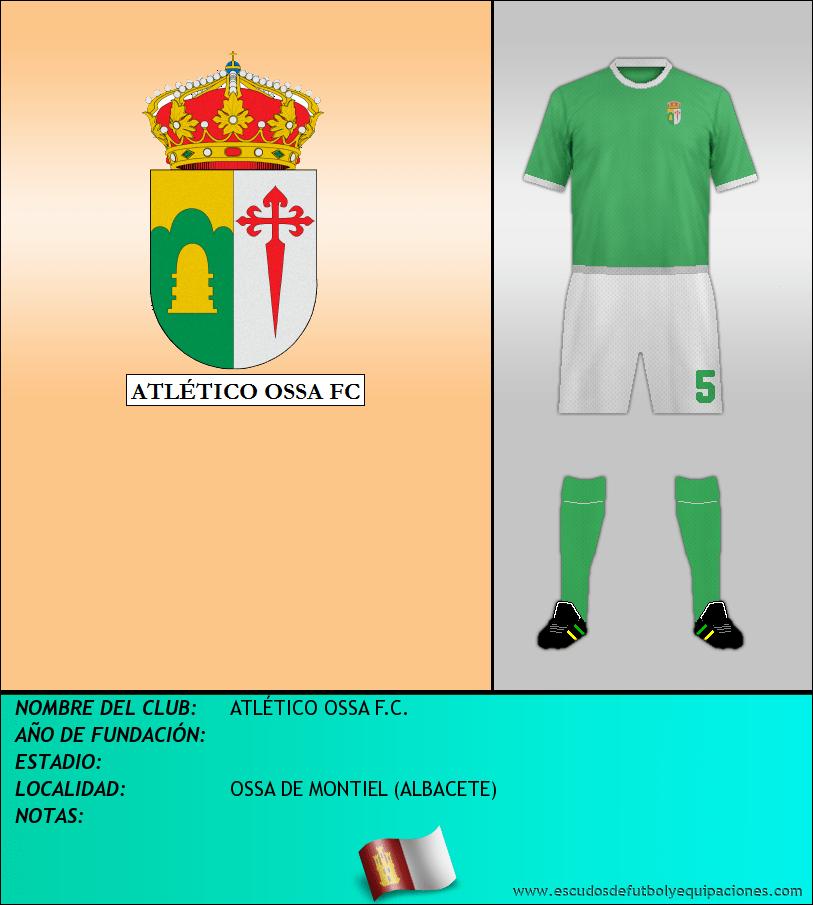 Escudo de ATLÉTICO OSSA F.C.