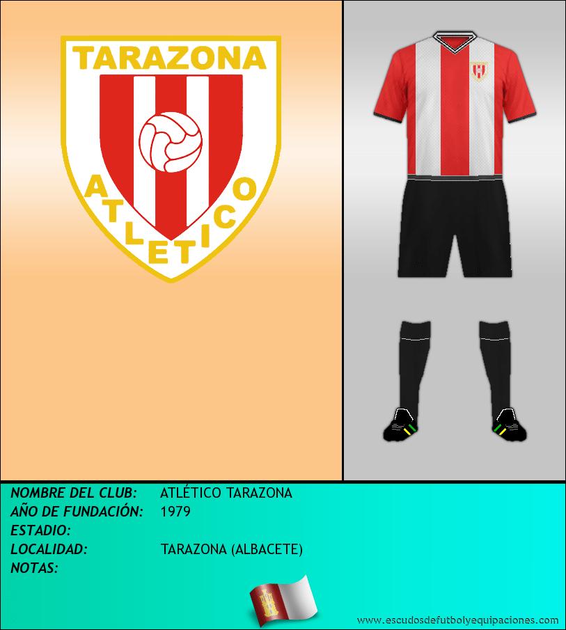 Escudo de ATLÉTICO TARAZONA