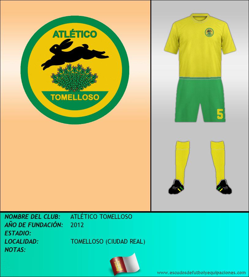 Escudo de ATLÉTICO TOMELLOSO