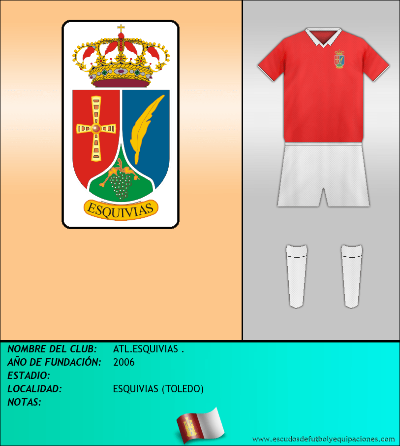 Escudo de ATL.ESQUIVIAS .