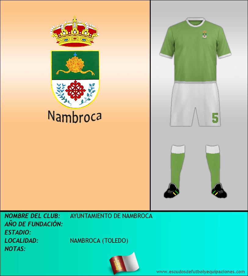 Escudo de AYUNTAMIENTO DE NAMBROCA