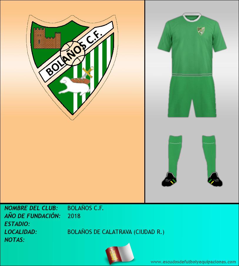 Escudo de BOLAÑOS C.F.