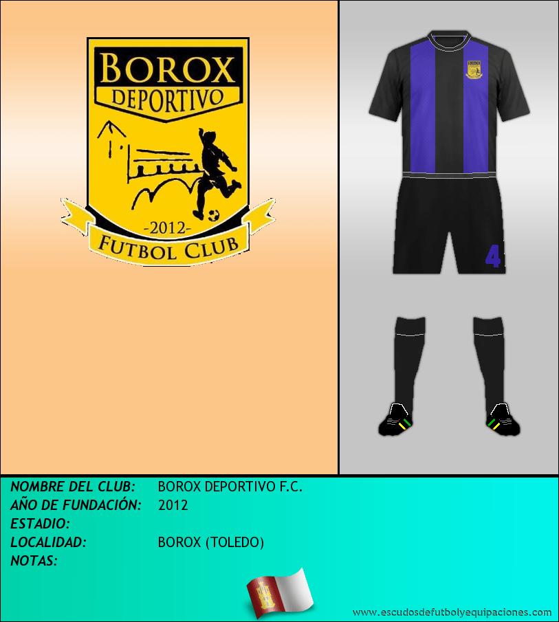 Escudo de BOROX DEPORTIVO F.C.