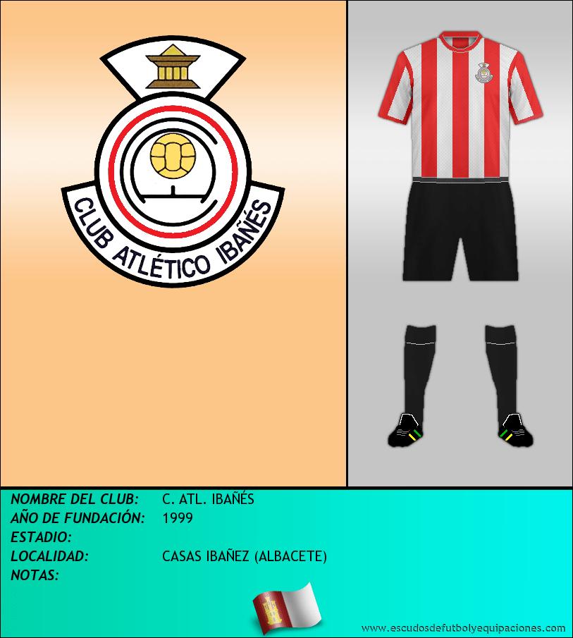 Escudo de C. ATL. IBAÑÉS