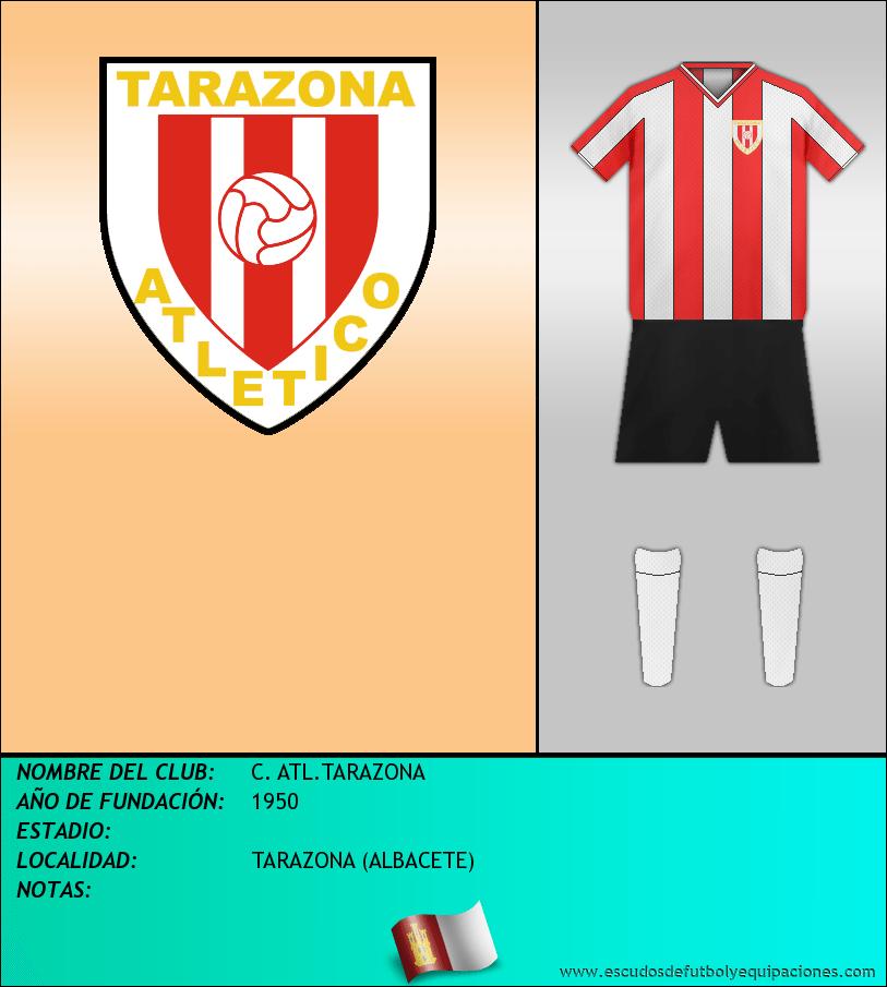 Escudo de C. ATL.TARAZONA
