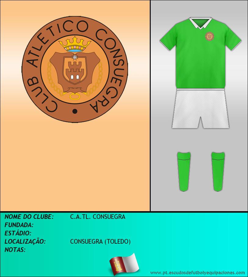 Escudo de C.A.TL. CONSUEGRA