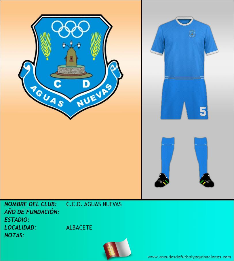 Escudo de C.C.D. AGUAS NUEVAS