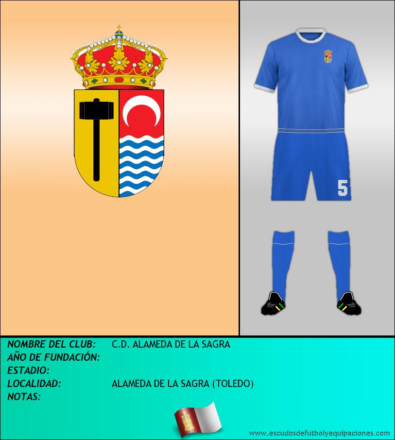 Escudo de C.D. ALAMEDA DE LA SAGRA