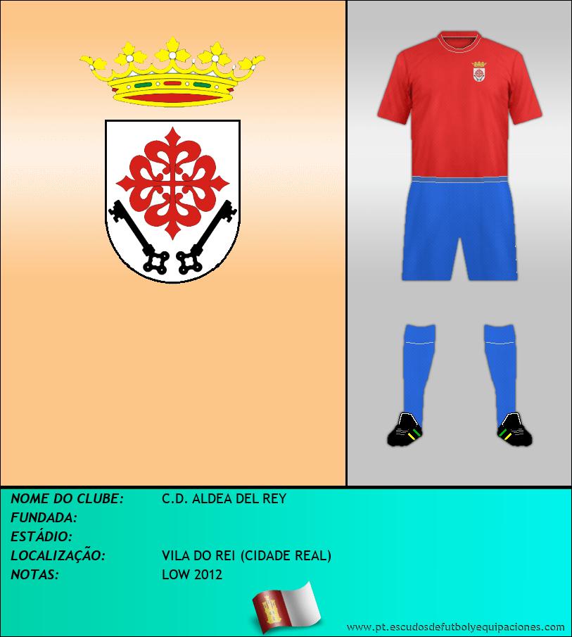Escudo de C.D. ALDEA DEL REY