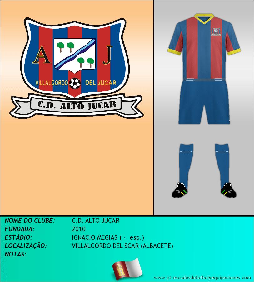 Escudo de C.D. ALTO JUCAR