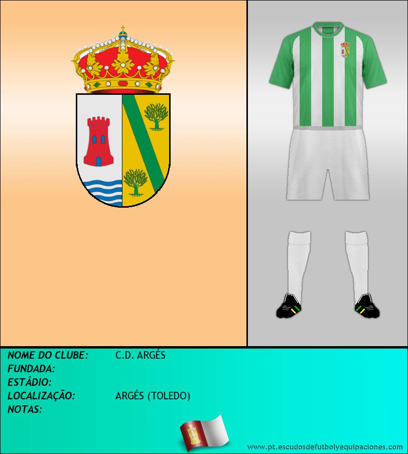 Escudo de C.D. ARGÉS