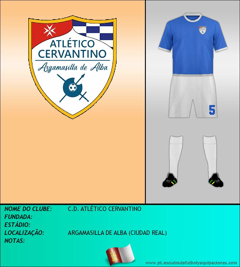 Escudo de C.D. ATLÉTICO CERVANTINO