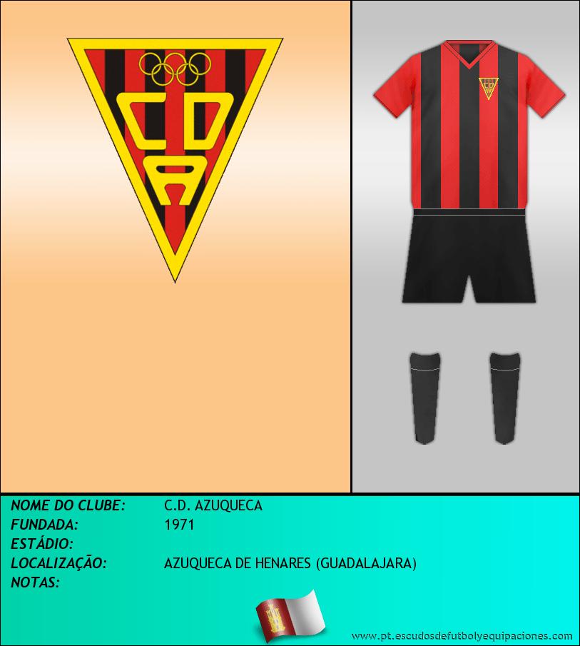 Escudo de C.D. AZUQUECA