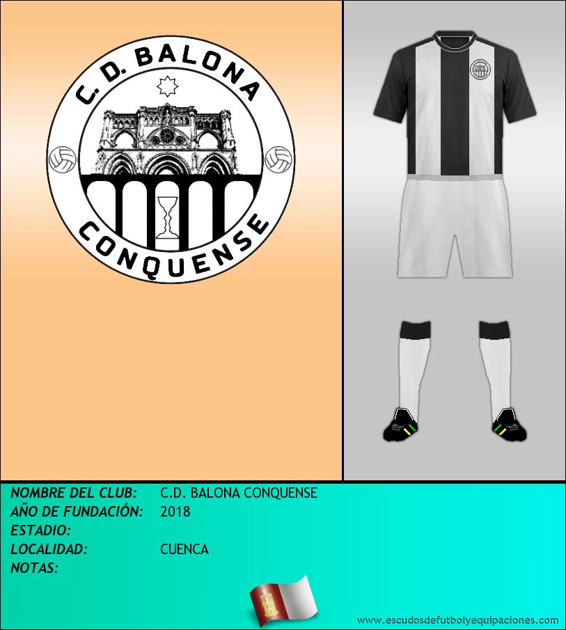 Escudo de C.D. BALONA CONQUENSE