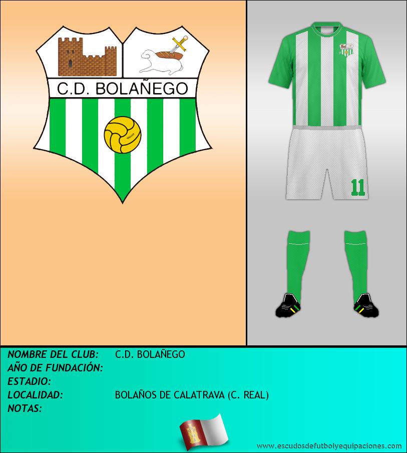 Escudo de C.D. BOLAÑEGO