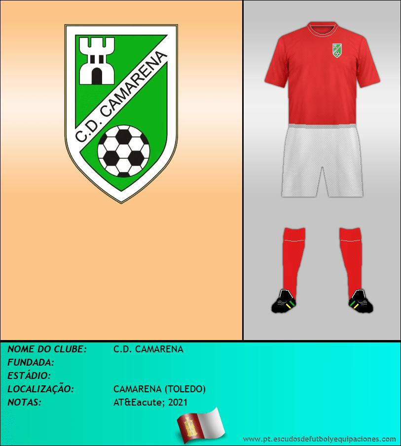 Escudo de C.D. CAMARENA