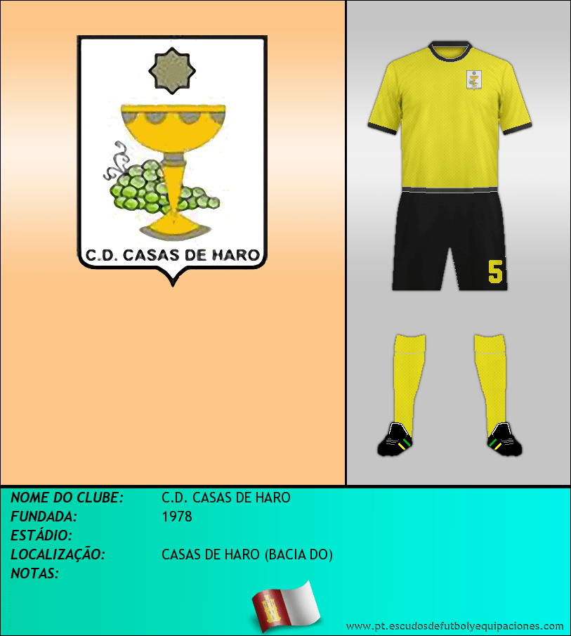 Escudo de C.D. CASAS DE HARO