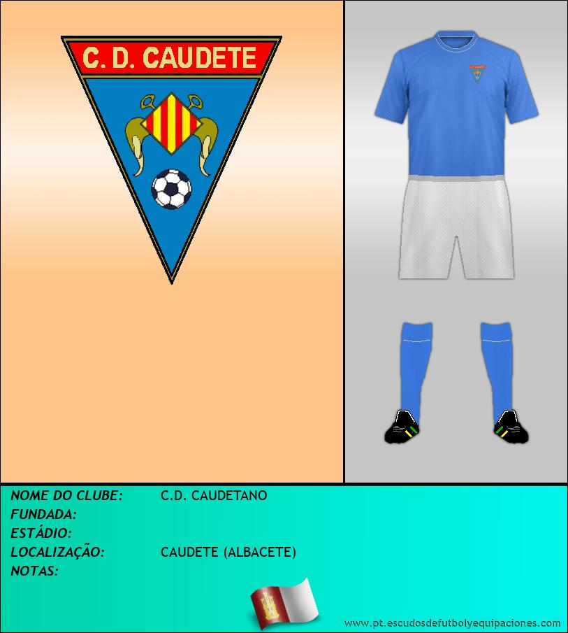 Escudo de C.D. CAUDETANO