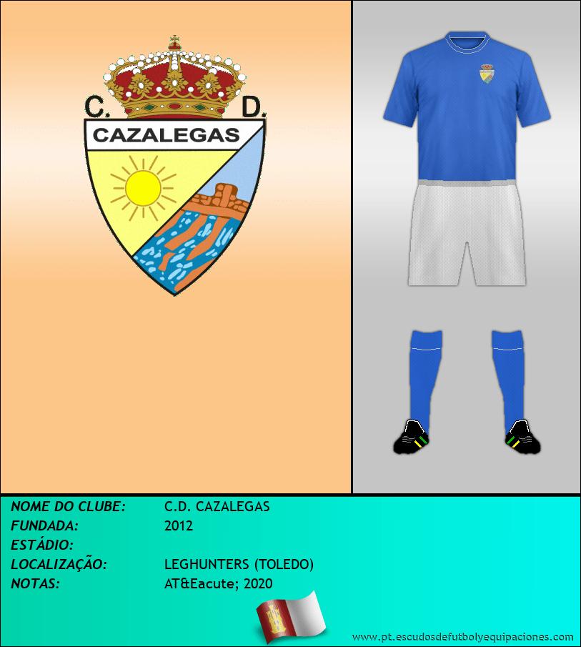 Escudo de C.D. CAZALEGAS