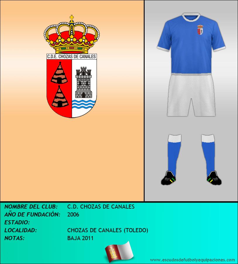 Escudo de C.D. CHOZAS DE CANALES
