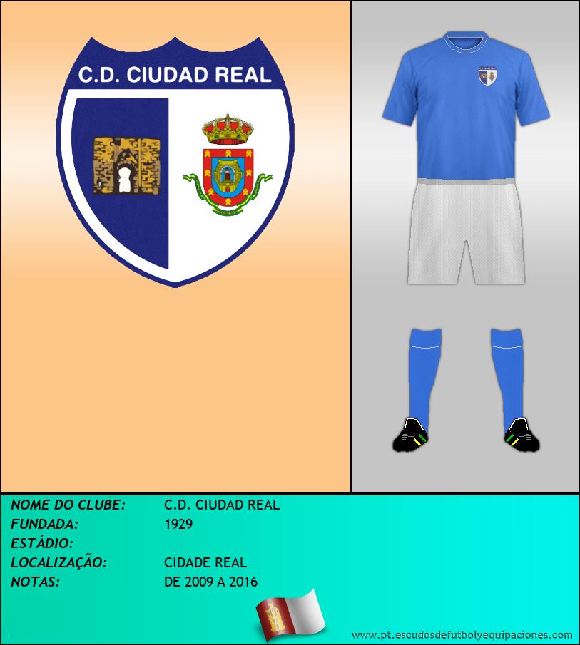 Escudo de C.D. CIUDAD REAL