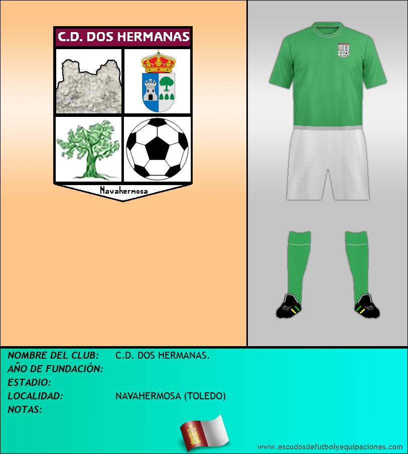 Escudo de C.D. DOS HERMANAS.