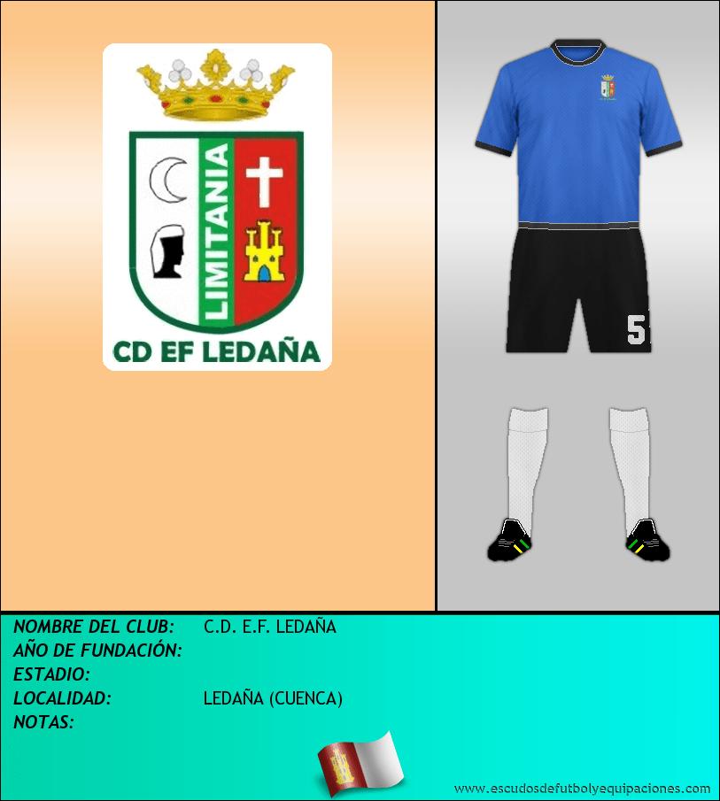 Escudo de C.D. E.F. LEDAÑA