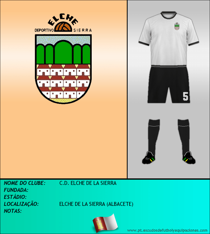 Escudo de C.D. ELCHE DE LA SIERRA