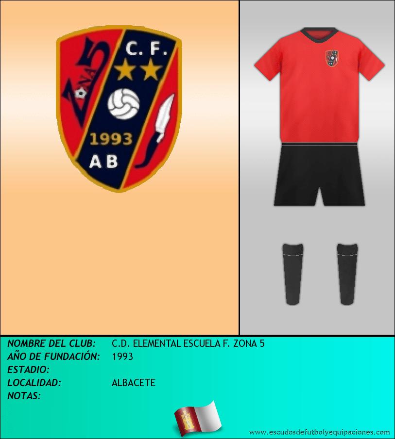 Escudo de C.D. ELEMENTAL ESCUELA F. ZONA 5