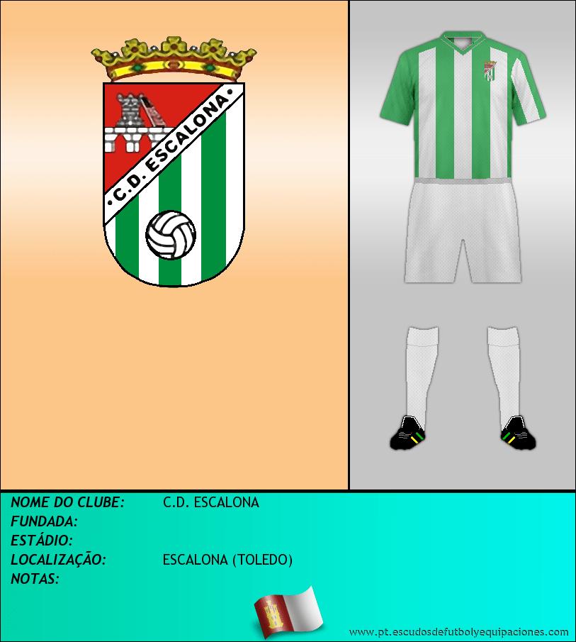 Escudo de C.D. ESCALONA