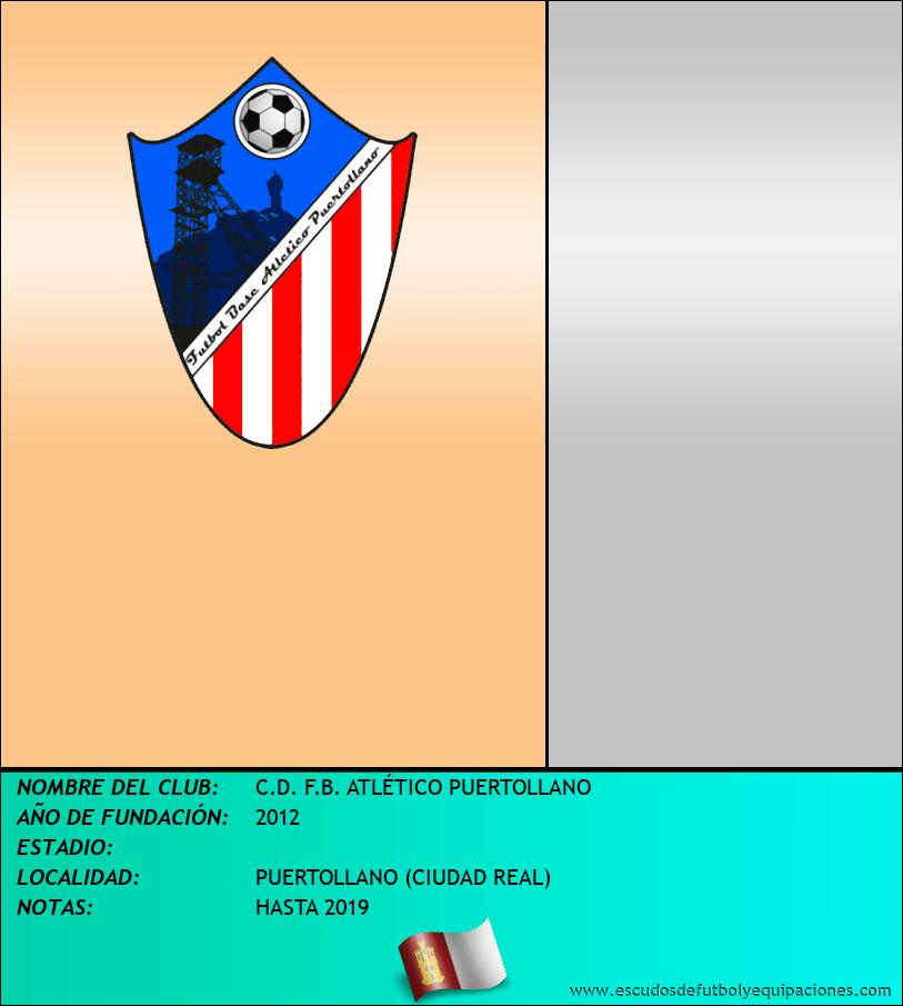 Escudo de C.D. F.B. ATLÉTICO PUERTOLLANO