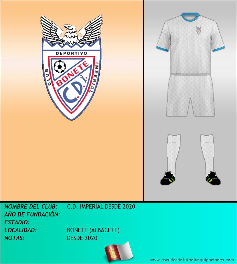 Escudo de C.D. IMPERIAL DESDE 2020