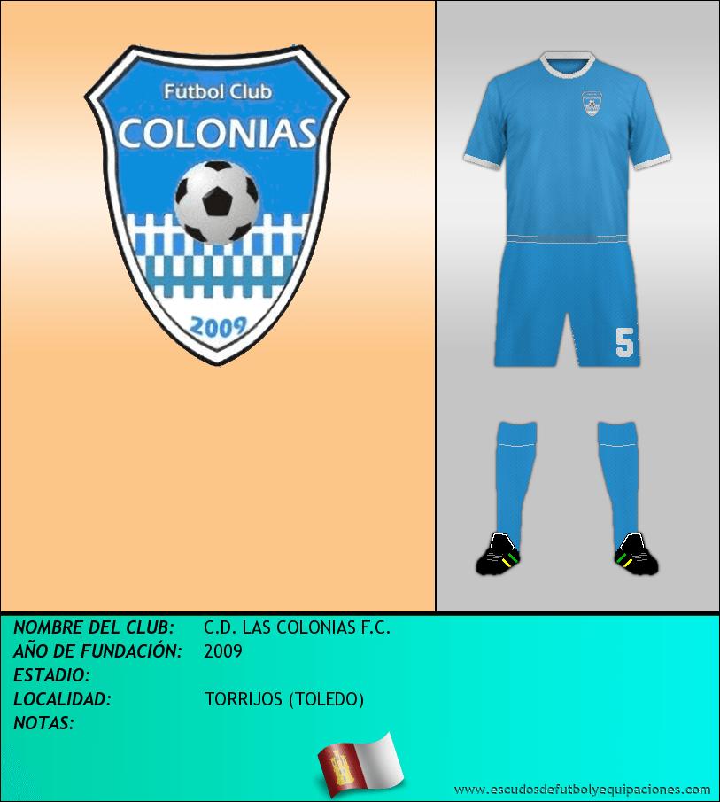 Escudo de C.D. LAS COLONIAS F.C.