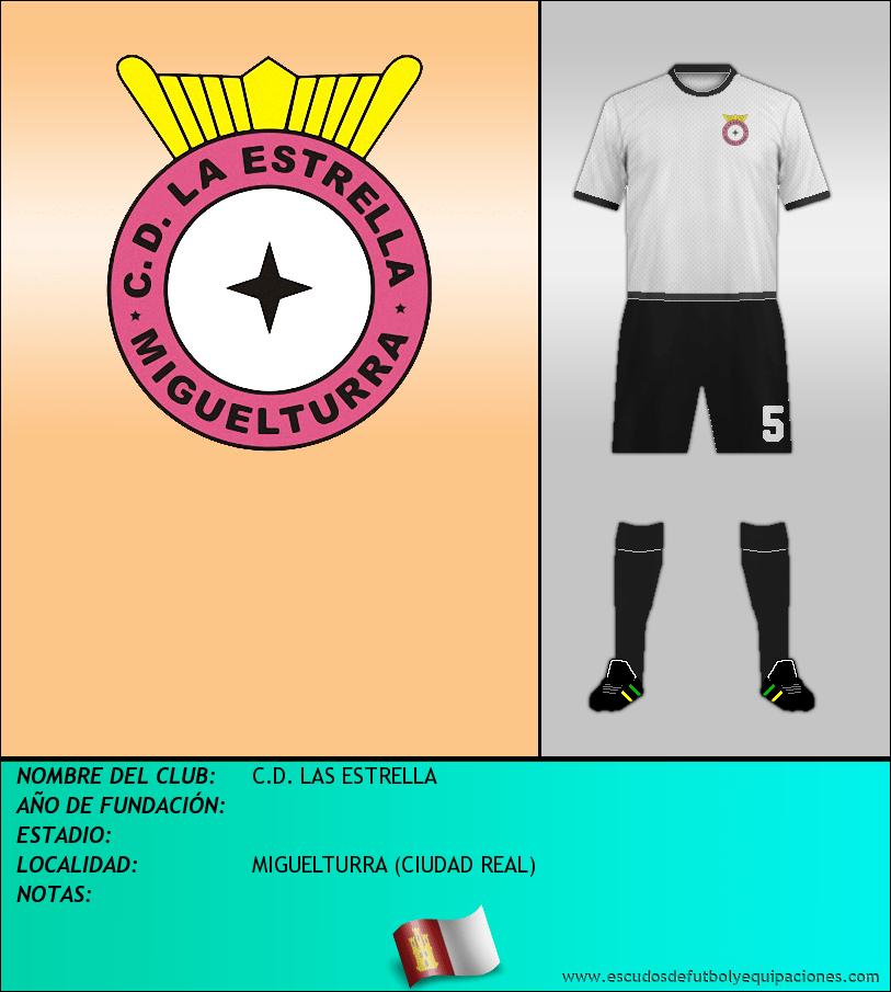 Escudo de C.D. LAS ESTRELLA