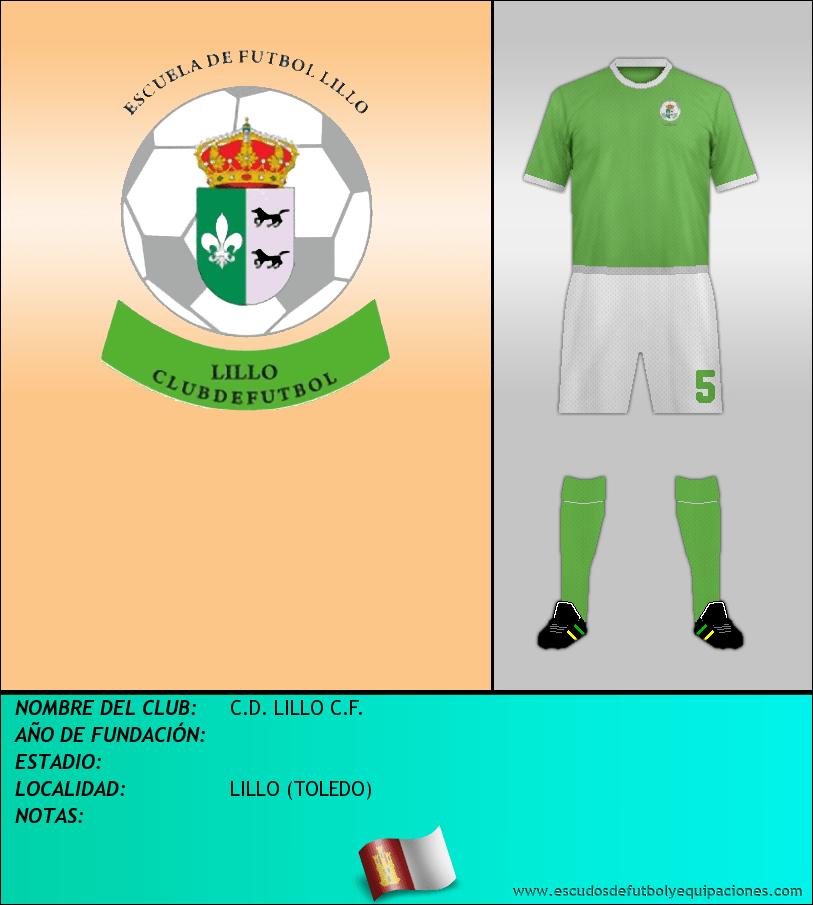 Escudo de C.D. LILLO C.F.
